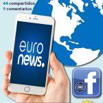 Euronews es consciente del poder de Facebook Video 360º