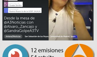 Antena 3 Noticias utiliza eficazmente Periscope